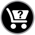 circular graphic of a cart that when clicked takes you to a Condar TuffDuck product page.